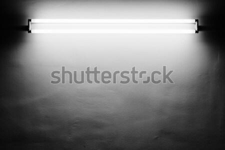 蛍光灯 光 管 壁 テクスチャ 抽象的な ストックフォト © donatas1205