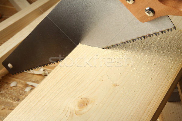 Wood worshop Stock photo © donatas1205