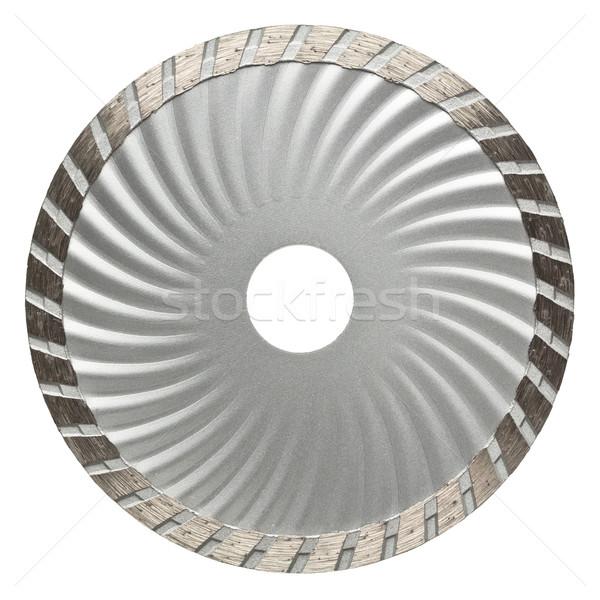 Photo stock: Pierre · disque · circulaire · vu · lame