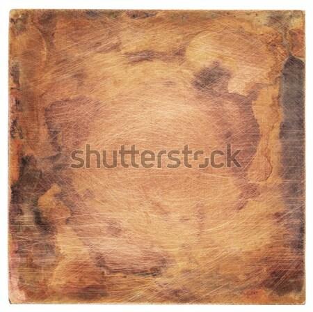 金属 プレート 銅 テクスチャ 古い デザイン ストックフォト © donatas1205