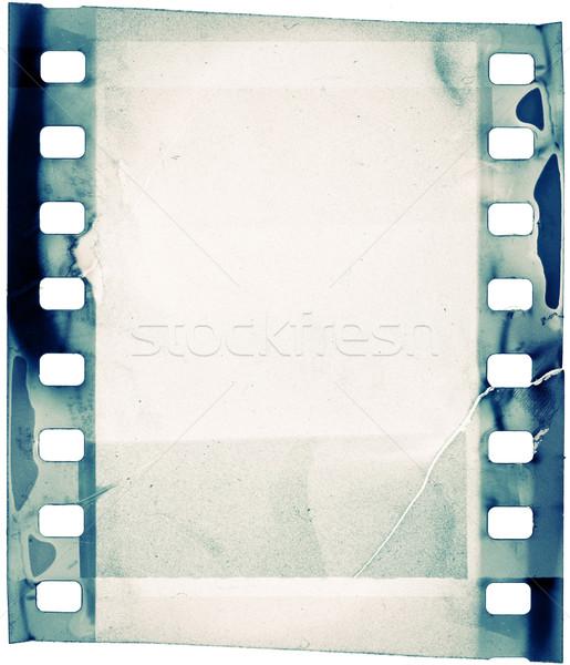 Film grunge filmszalag absztrakt művészet zöld Stock fotó © donatas1205