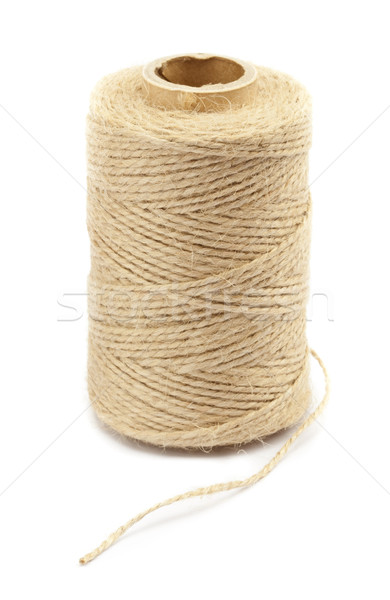 Carretel corda branco linha corda Foto stock © donatas1205
