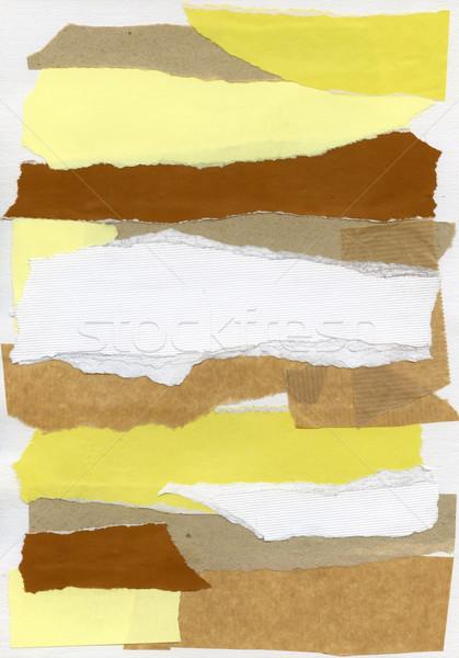 Paper collage Stock photo © donatas1205
