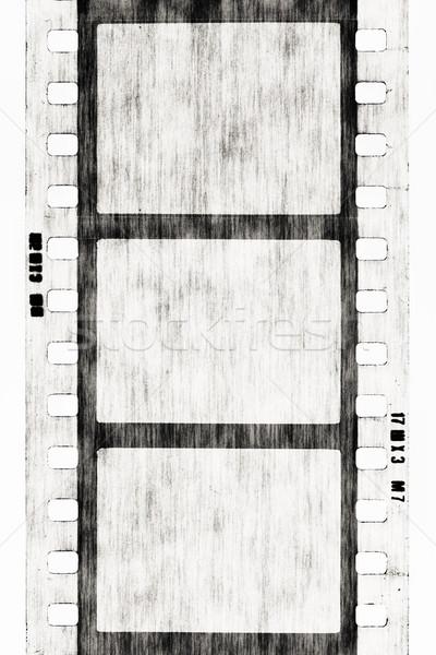 Filmszalag üres textúra terv keret művészet Stock fotó © donatas1205