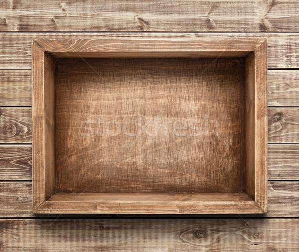 Wooden box Stock photo © donatas1205