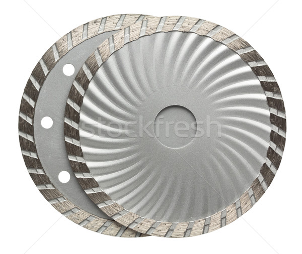 Stone cutting disks Stock photo © donatas1205