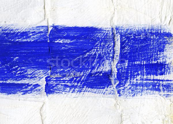 Acrílico pintado textura papel pintura fondo Foto stock © donatas1205
