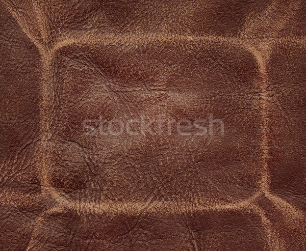 Brown leather Stock photo © donatas1205