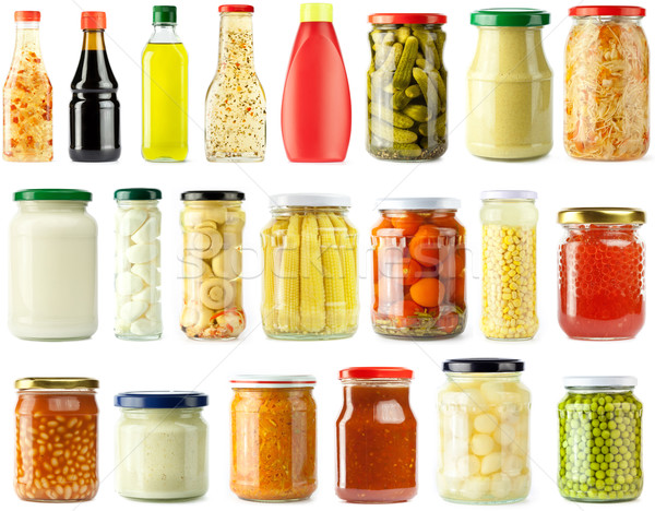 pickled food Stock photo © donatas1205