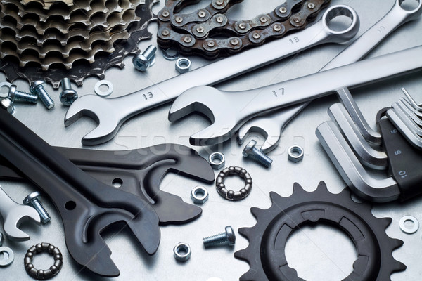 Bike repairing Stock photo © donatas1205