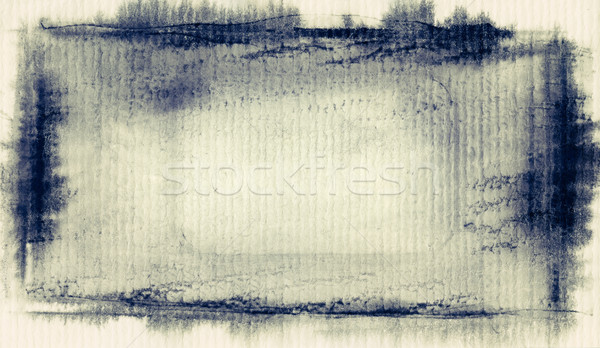Geschilderd grunge abstract aquarel papier textuur Stockfoto © donatas1205