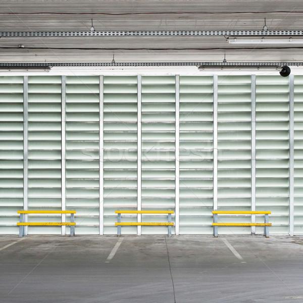 駐車場 壁 空っぽ 駐車場 階 天井 ストックフォト © donatas1205