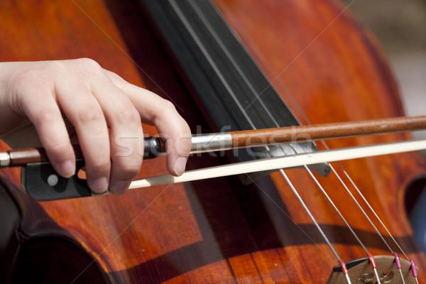 street musician Stock photo © donatas1205