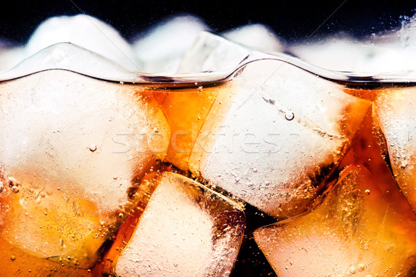 Cola glace verre alimentaire Photo stock © donatas1205
