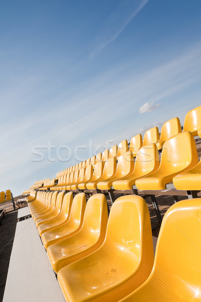 Yellow seats Stock photo © donatas1205