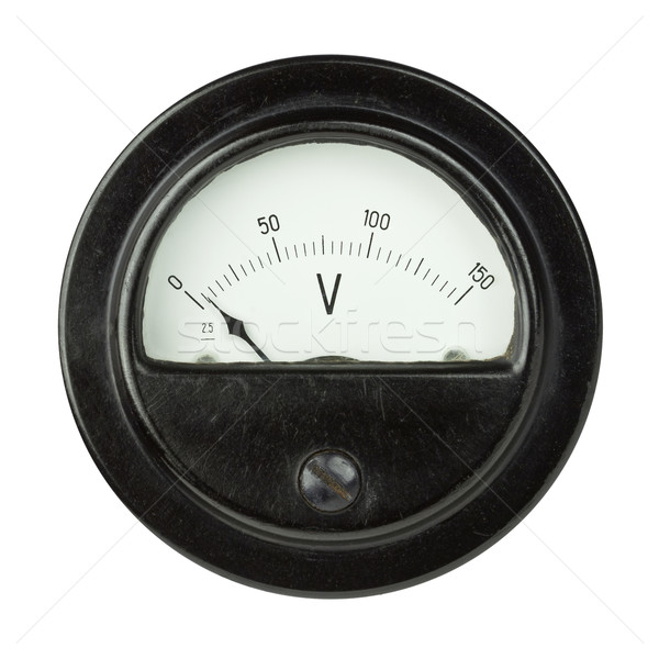 Voltmeter Stock photo © donatas1205