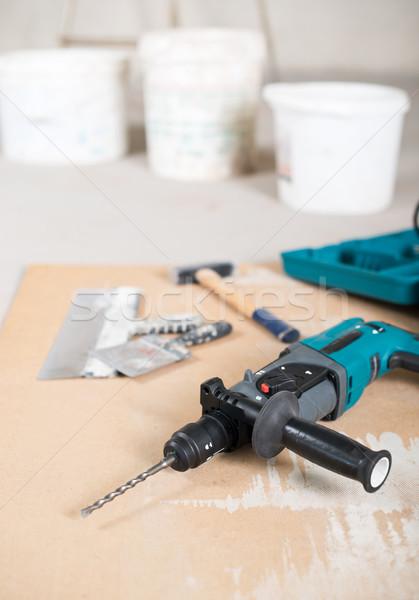 Electric drill Stock photo © donatas1205