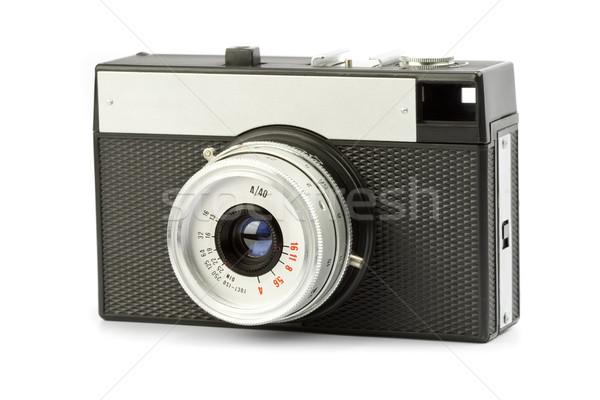 Snapshot fotocamera vintage 35 millimetri film nero Foto d'archivio © donatas1205