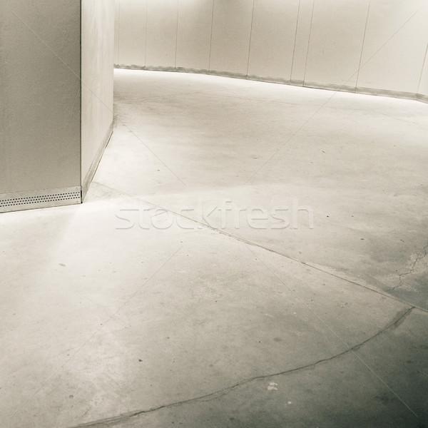 Parking pusty piętrze ściany puszka używany Zdjęcia stock © donatas1205