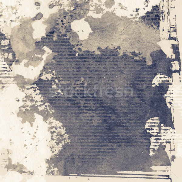 гранж текстур аннотация Гранж чернила текстуры бумаги Сток-фото © donatas1205