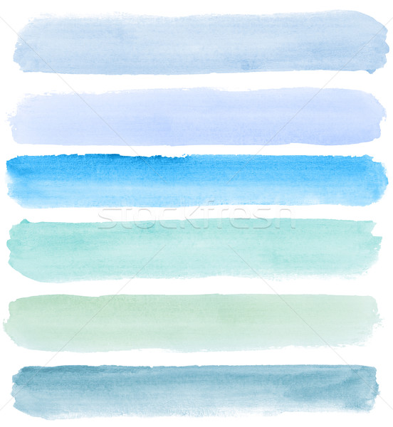 watercolor banners Stock photo © donatas1205