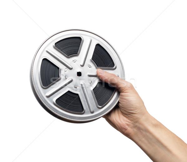 Rolo de filme filme cinematográfico homem filme arte filme Foto stock © donatas1205