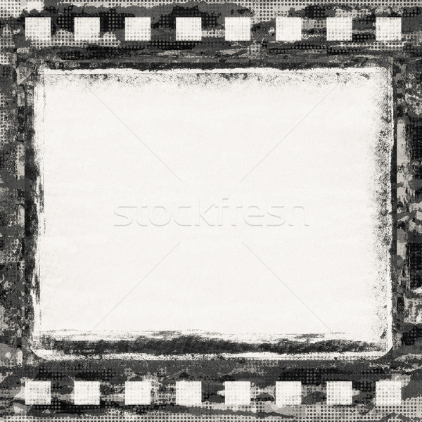 Film grunge frame abstract kunst bioscoop Stockfoto © donatas1205