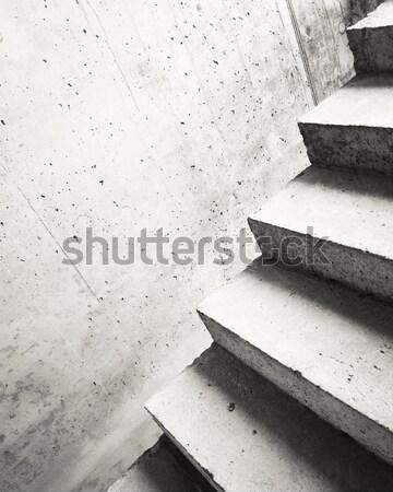Résumé escaliers concrètes bâtiment escalier texture Photo stock © donatas1205