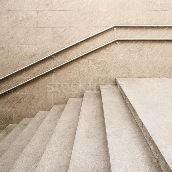 Pusty klatka schodowa nowoczesny budynek tekstury projektu tle Zdjęcia stock © donatas1205