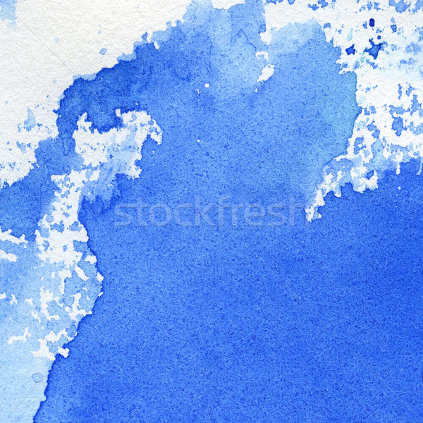 Aquarel abstract hand geschilderd textuur kunst Stockfoto © donatas1205