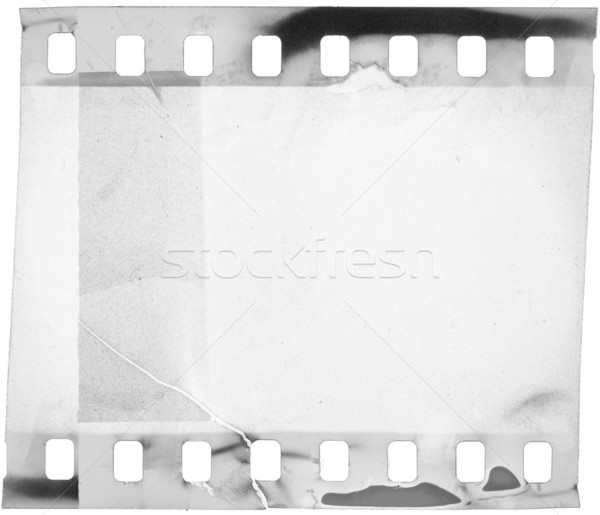 Film grunge filmstrip abstract kunst bioscoop Stockfoto © donatas1205