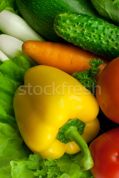 yellow paprika Stock photo © donatas1205