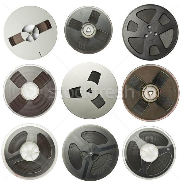 Audio reels Stock photo © donatas1205