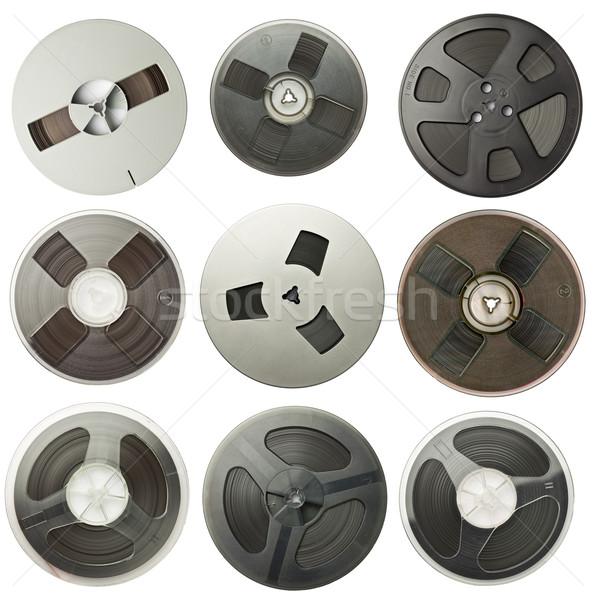 аудио Vintage магнитный фильма технологий фон Сток-фото © donatas1205