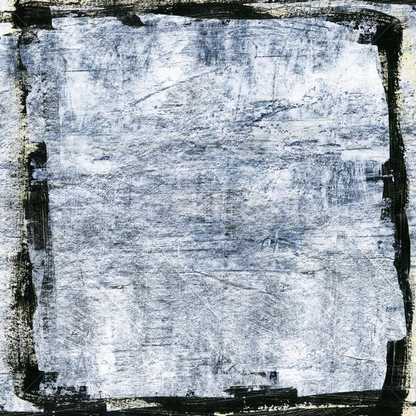 アクリル 抽象的な 手 描いた テクスチャ 芸術 ストックフォト © donatas1205