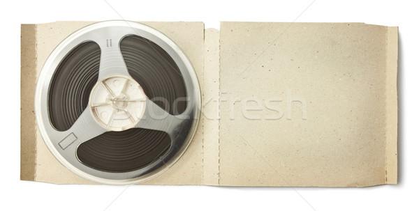 Stock photo: Audio reel