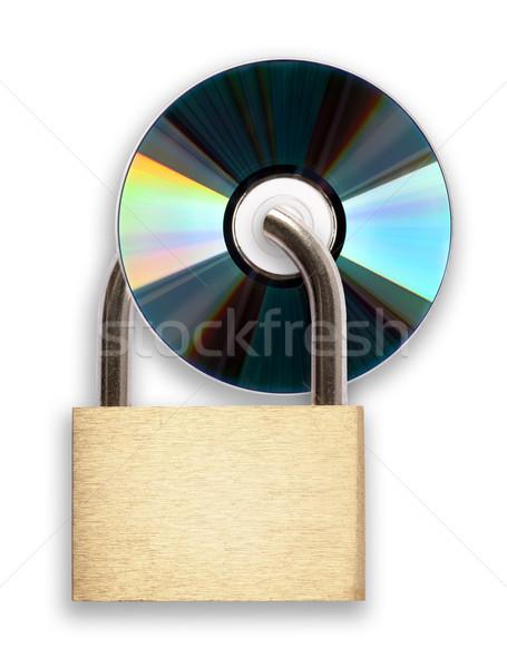 Segurança de dados digital tecnologia segurança software informação Foto stock © donatas1205