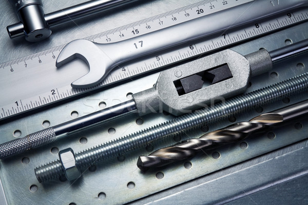 Stock photo: Metal tools