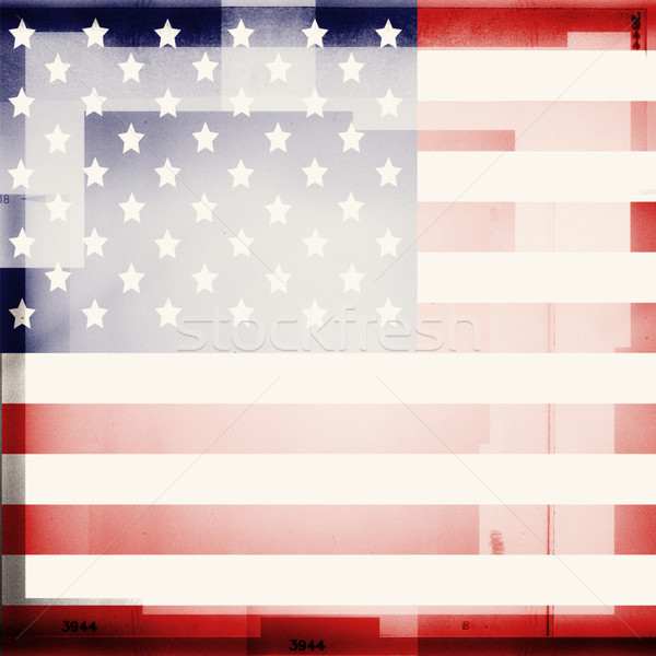 USA flag Stock photo © donatas1205