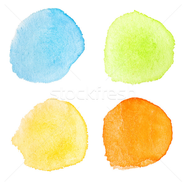 watercolor dots Stock photo © donatas1205