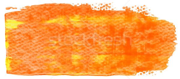 Painted sroke Stock photo © donatas1205