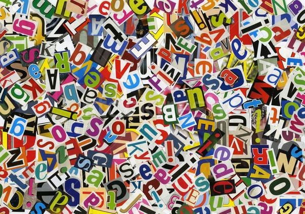 ABC collage Stock photo © donatas1205