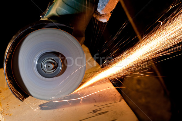 Sawing metal Stock photo © donatas1205
