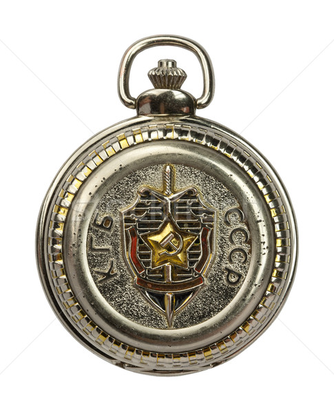 KGB clock Stock photo © donatas1205