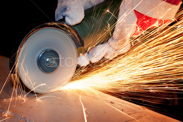 Sawing metal Stock photo © donatas1205