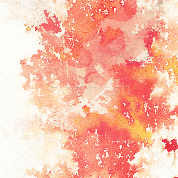水彩画 抽象的な 手 描いた デザイン 塗料 ストックフォト © donatas1205