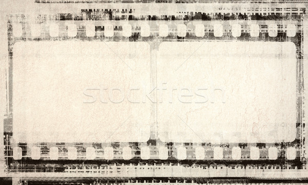 Grunge film filmstrip abstract kunst donkere Stockfoto © donatas1205