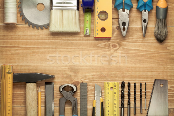 Stock photo: Wood working