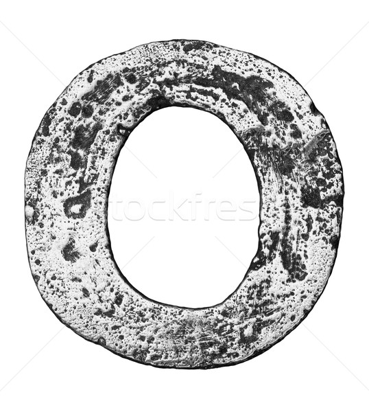 металл письме сплав алфавит знак Сток-фото © donatas1205