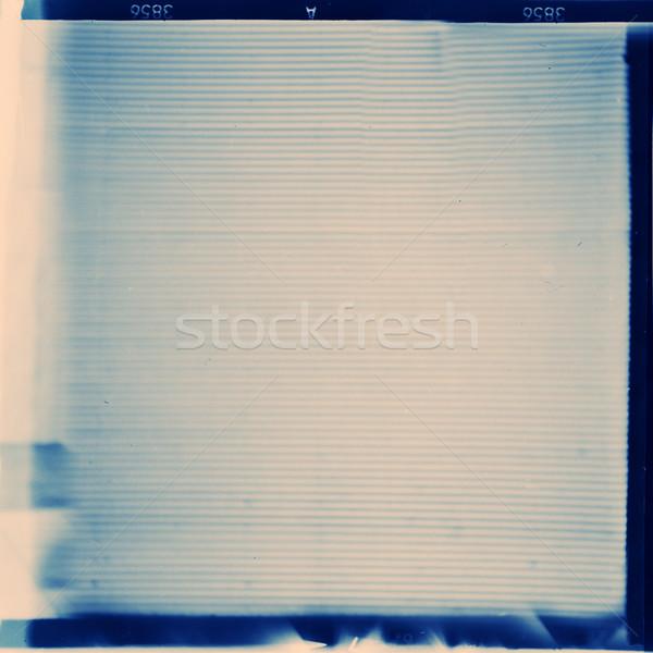 Film formaat frame ontwerp kunst bioscoop Stockfoto © donatas1205